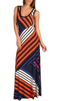 Calvin Klein Printed Maxi Dress