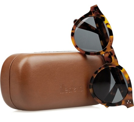 Dasha for Illesteva Leonard round-frame acetate sunglasses