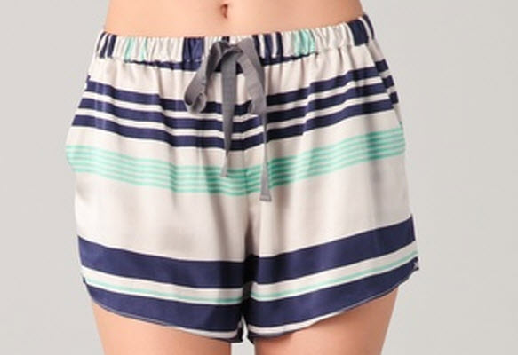 Elizabeth & James Striped Ozzy Shorts