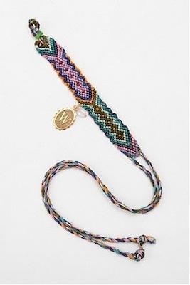 Initial Coin Friendship Bracelet