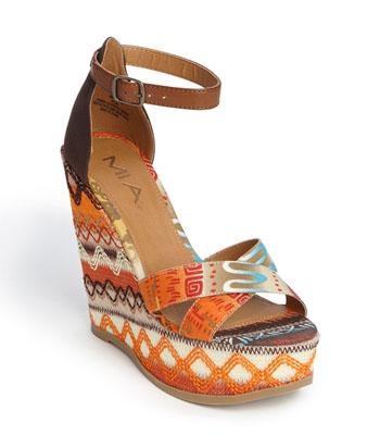 MIA 'Reeba' Wedge Sandal