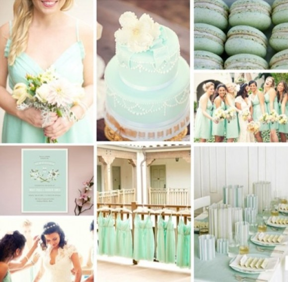 Mint Wedding Ideas: Mint Themed Wedding