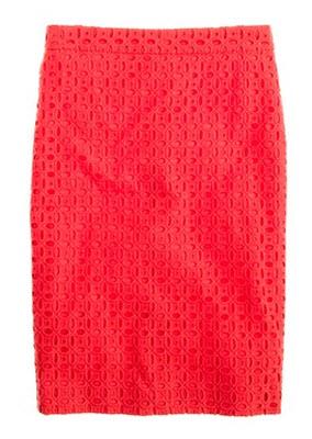 No. 2 Pencil Skirt, Ultra Eyelet
