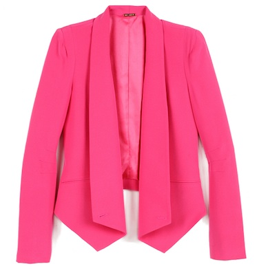 Rebecca Minkoff Becky Jacket in Hot Pink
