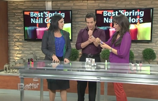 Spring Nail Trend Scented