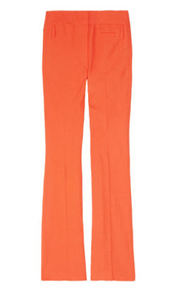 Vanesso Bruno Linen and Cotton Blend Flared Pants