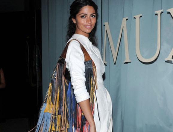 Celebrity fringe purse