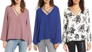 This $19 Top Is Super Flattering And Has <em>Tons</em> Of Great Reviews On Nordstrom