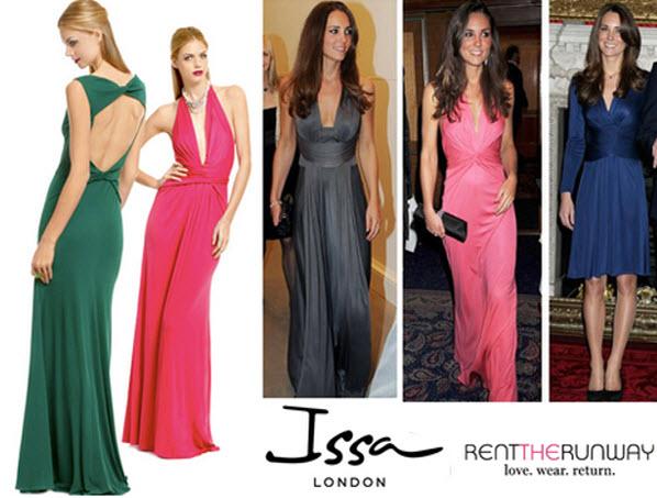 Kate Middleton Issa Dress Rent The Runway Kate Middleton Blue