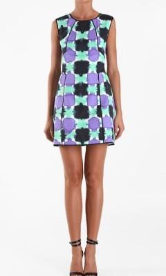 Tibi Dress on Tibi Gemma Paneled Dress    Shefinds