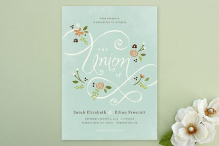Garden Party Wedding Floral Wedding Invitations – Garden Party Wedding Invitations