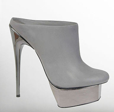 Adrienne Maloof Isabella Leather Pumps