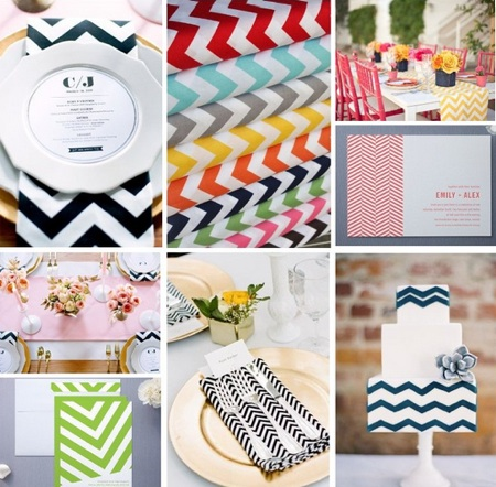 We 39ve found an amazing selection of stylish chevron wedding invitations