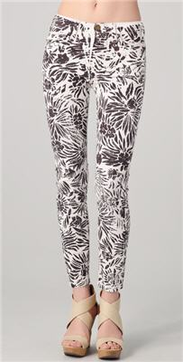 DVF Loves Current / Elliott Classic Skinny Jeans