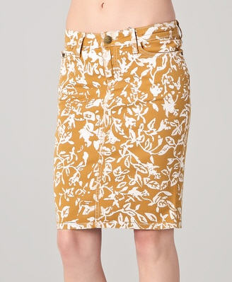 DVF Loves Current / Elliott Skinny Denim Skirt