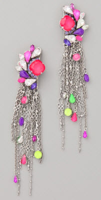 Erickson Beamon Color Me Crazy Earrings