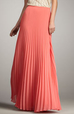 Buy maxi pleated skirt – Fashionable skirts 2017 photo blog