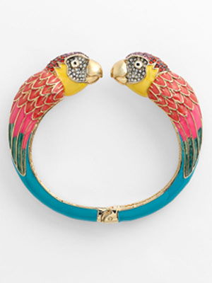 Juicy Couture 'Palm Beach Poolside' Parrot Bangle