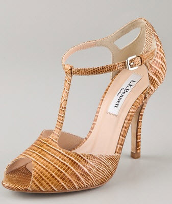 L.K. Bennett Sail T Bar Sandals