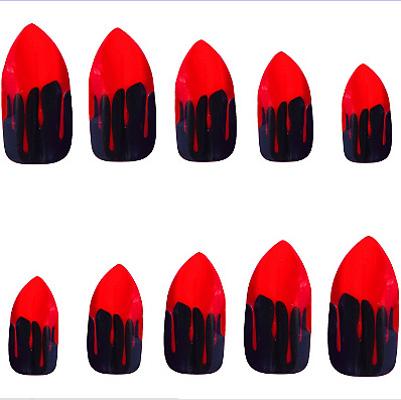 Pointy Vampire Fingernails