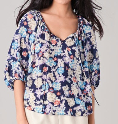 Flowered Blouse