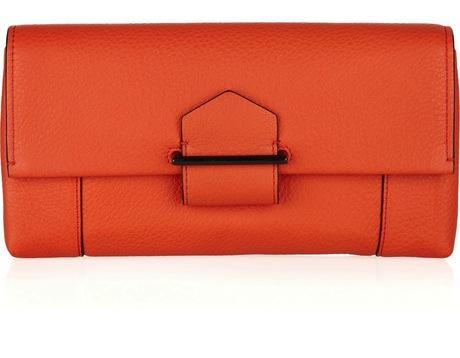 Reed Krakoff Leather Envelope Clutch