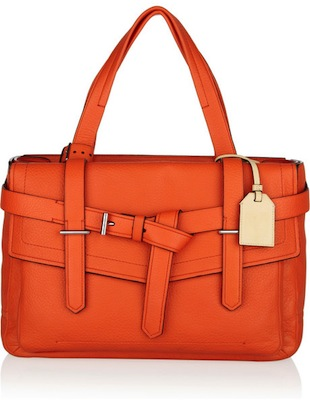 Reed Krakoff Soft Boxer 1 Textured-Leather Tote