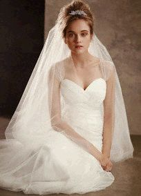 Soft Net Gown with Delicately Draped Bodice Style