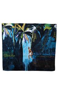WOW! Peter Doig Double Beach Towel