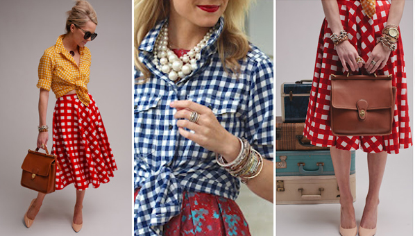 Gingham trend