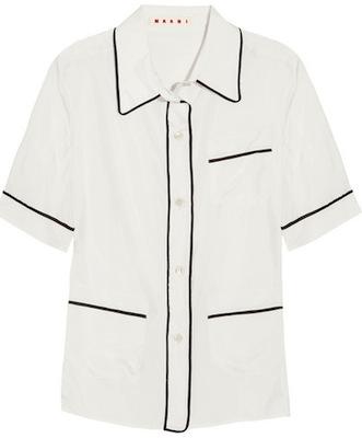 Marni Silk Pajama Shirt