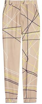 Piamita Grace Printed Silk Pajama Pants