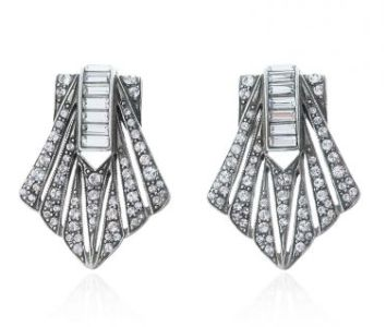 Ben Amun 1920s Gatsby Earrings
