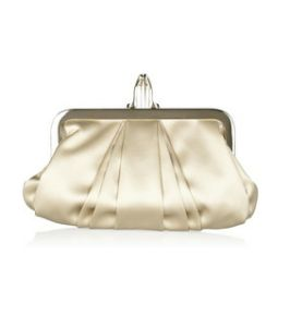 Christian Louboutin Mini Loubi Satin Frame Clutch