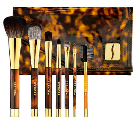 Deluxe Tortoise Brush Set