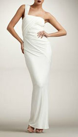 Donna Karan Twist One-Shoulder Gown