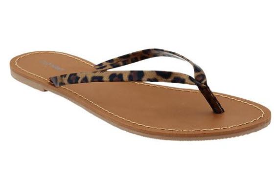 Faux Leather Capri Sandals