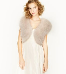 Feather Fete Shrug