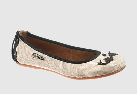 Anna Sui for Hush Puppies Fish Skimmer