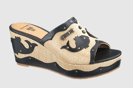 Anna Sui for Hush Puppies Fish Slide