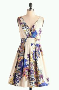 Floral Palate Dress