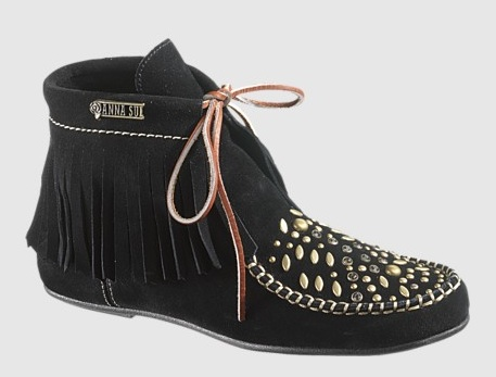 Anna Sui for  Hush Puppies Glam Wallaby