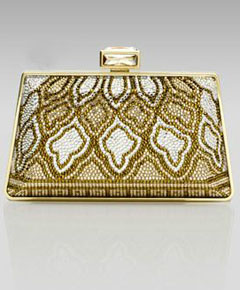 Judith Leiber New Mini Trapezoid Clutch