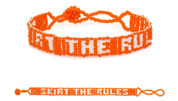 Kate Spade Skirt The Rules Bracelet