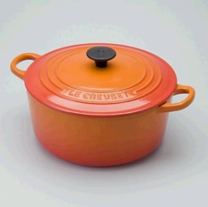 7. A Le Creuset french or dutch oven. Classic.