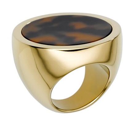 MICHAEL Michael Kors Tortoise Slice Ring