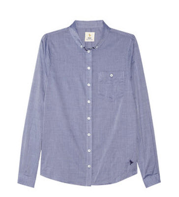 MIH Jeans Classic Cotton Chambray Shirt