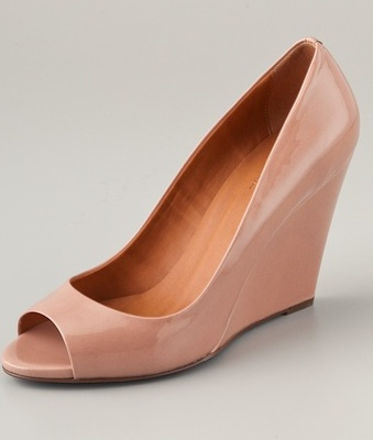 Madewell Bianca Open Toe Wedges