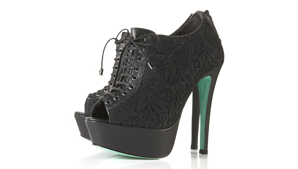 Magda Lace Up Booties