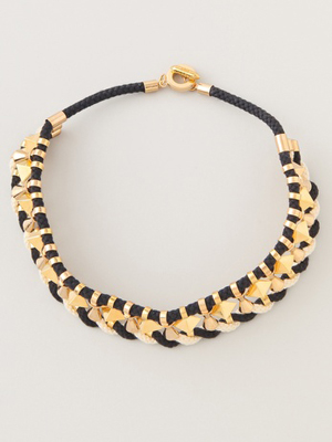 Noir for L.A.M.B. Twisted Cord Necklace